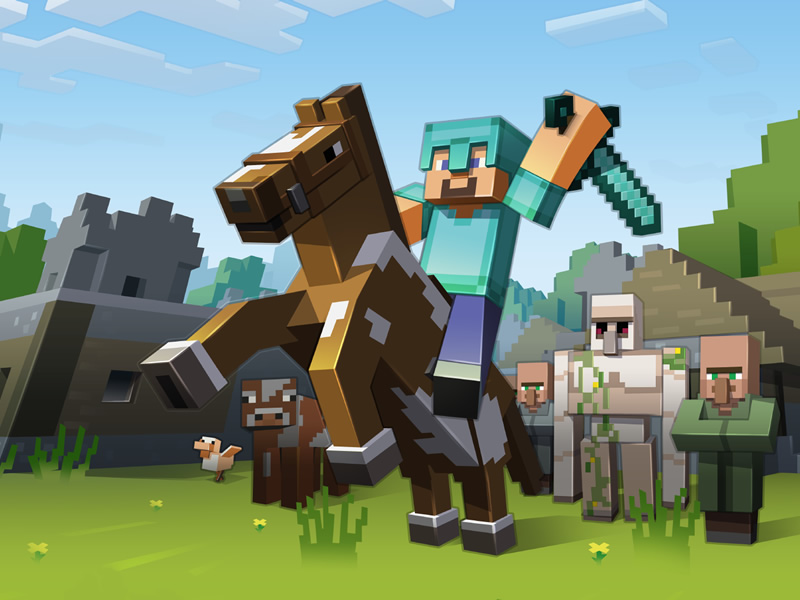 Building on its 10th anniversary foundations its Minecraft