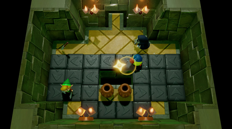 Additional size quests for the Zelda: Link's Awakening Switch remake