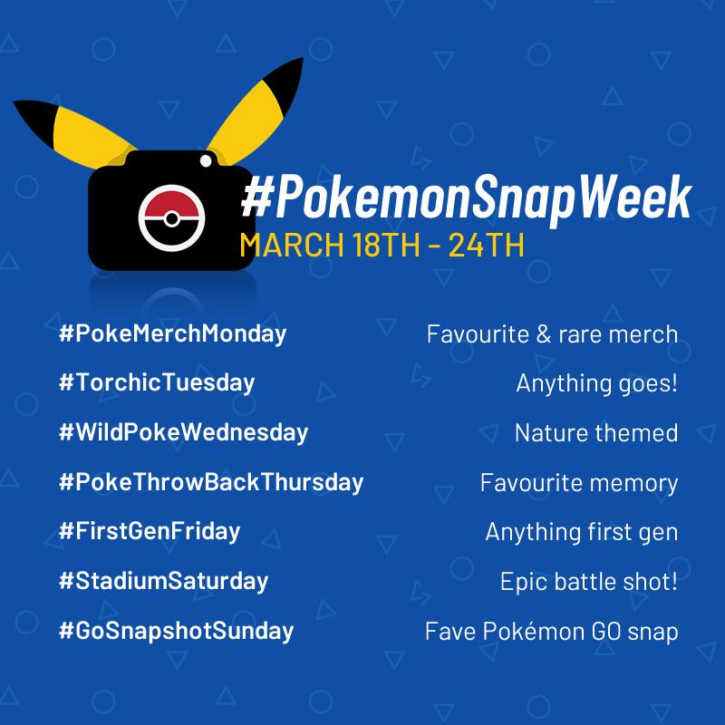 #PokemonSnapWeek – An Instagram Challenge