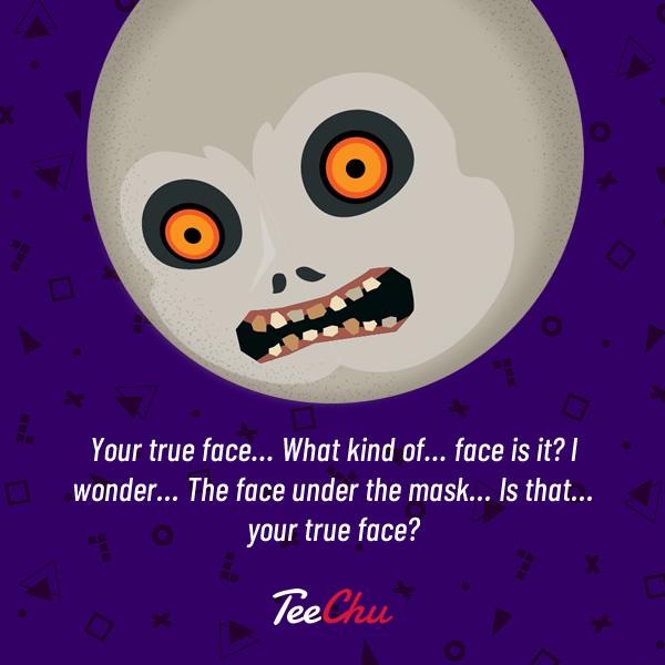 The face beneath Majora's Mask