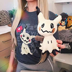 The misunderstood ghost! Loving this Mimikyu snap from @mooneriia