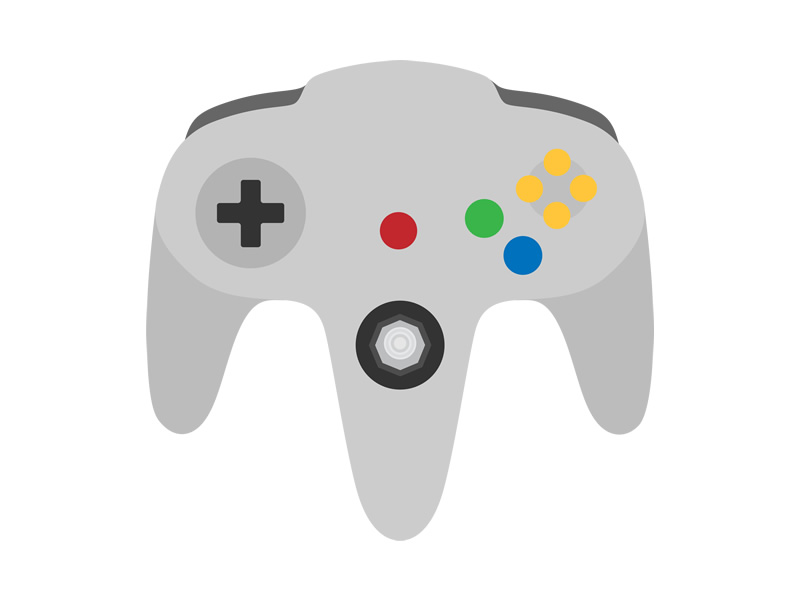 The Nintendo 64 controller - a three-pronged 3D Attack