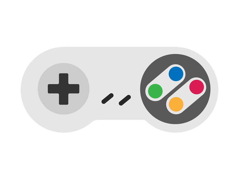 A shoulder to powerslide on - the SNES controller