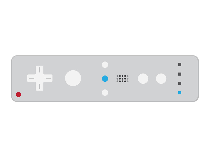 It's all in the motion - Wii Remote control