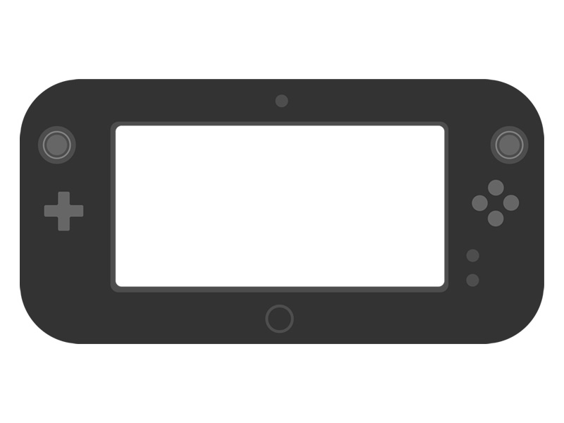 Behold, dual screens in the home - the Wii U controller