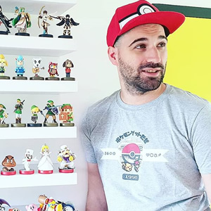 Check out @rickachutube's amazing amiibo collection - love it!