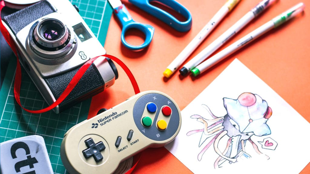 National Creativity Day: Art and Geek Craft Ideas