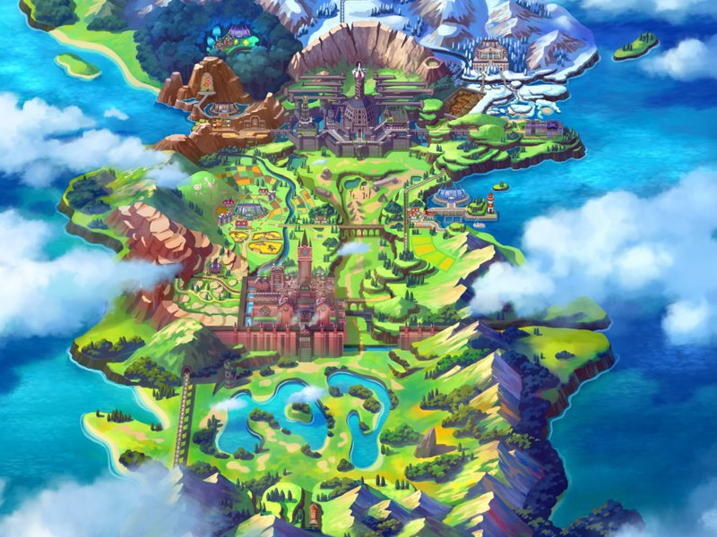 Is Pokémon Sword and Shield rumours - Based on the UK?