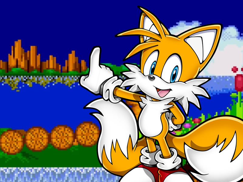 How did Tails meet Sonic?