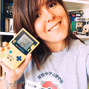 GameBoy and retro tee? @ravendark13th is all set to battle through to the Elite Four!