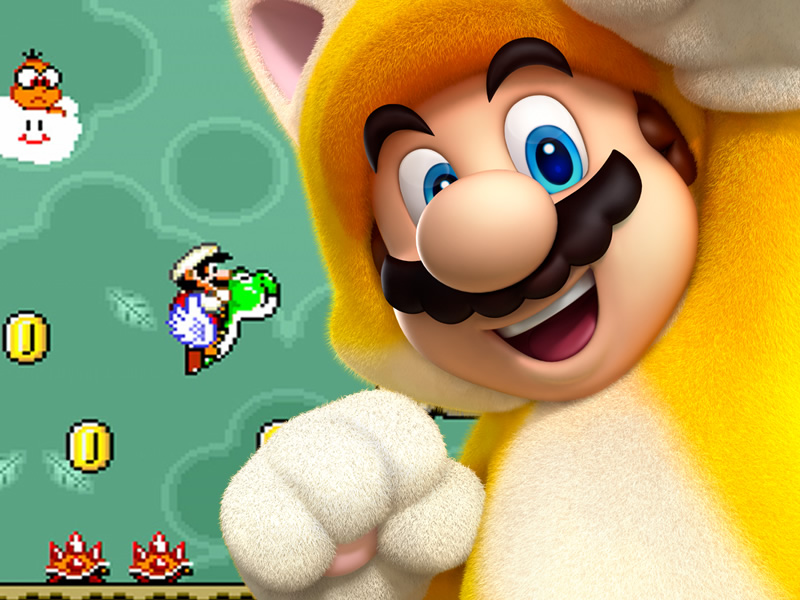 Super Mario 3D World's Cat Suit is the Purr-fect power-up!