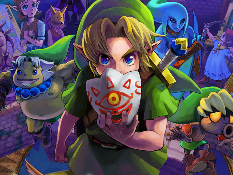 Big Video Game Anniversaries of 2020 List - Zelda: Majora's Mask