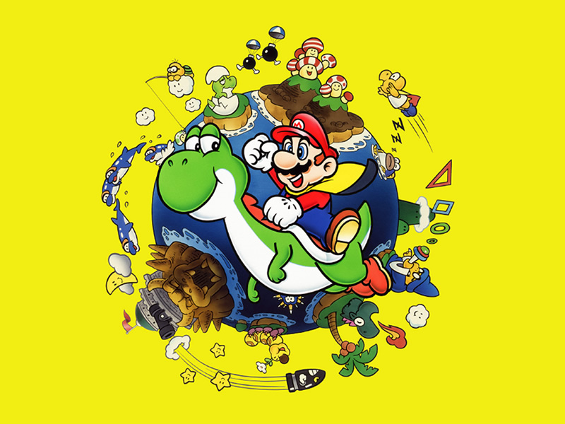 Big Video Game Anniversaries of 2020 List - Super Mario World
