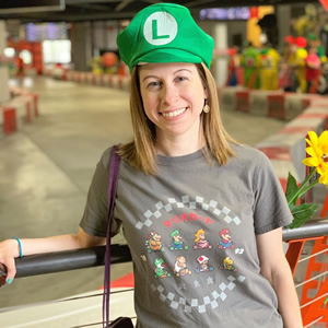 Mario hat, classic tee? Let's go for a race with @pausemygame!