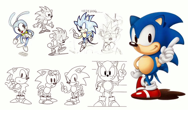 Where does Sonic the Hedgehog come from?