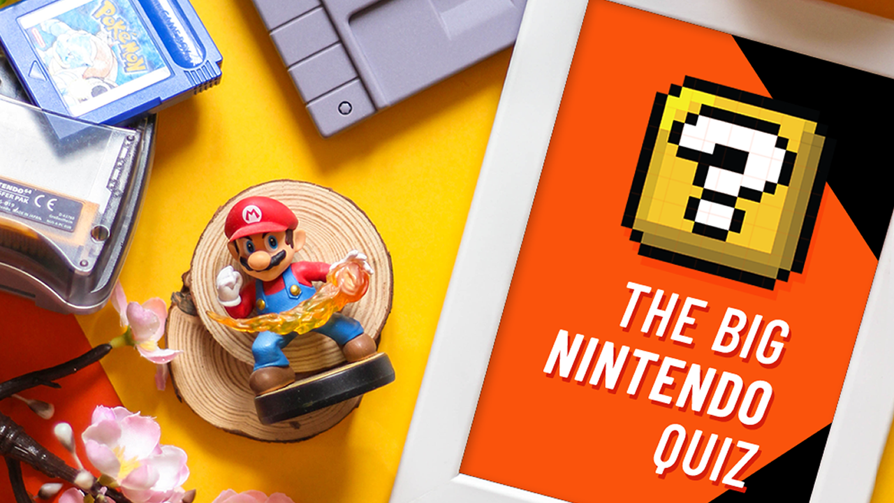 Take on The Big Nintendo Quiz Show