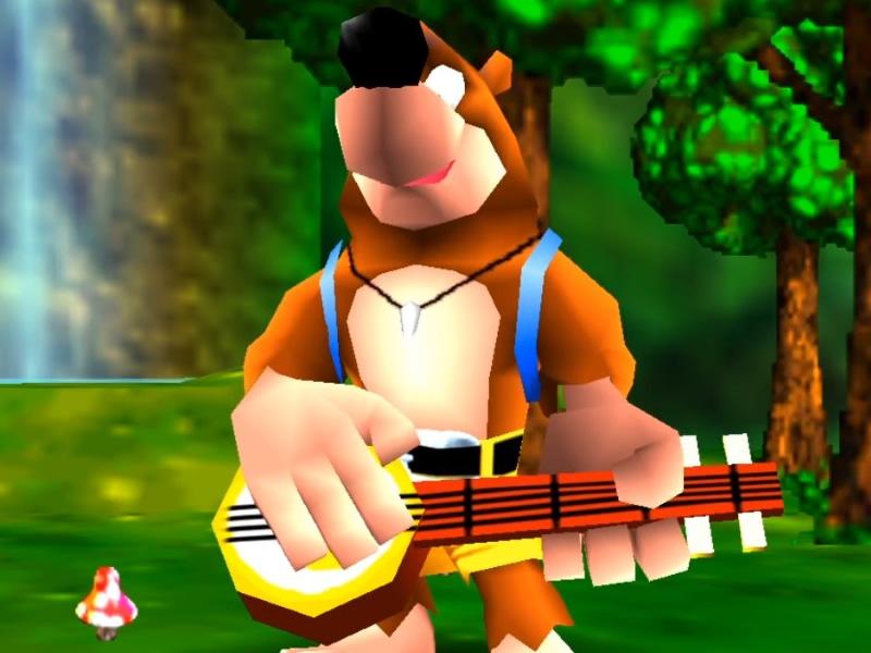 Best Rare Games - Banjo Kazooie