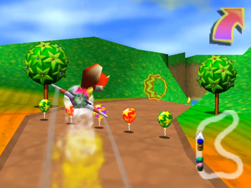 Best Rare Games - Diddy Kong Racing