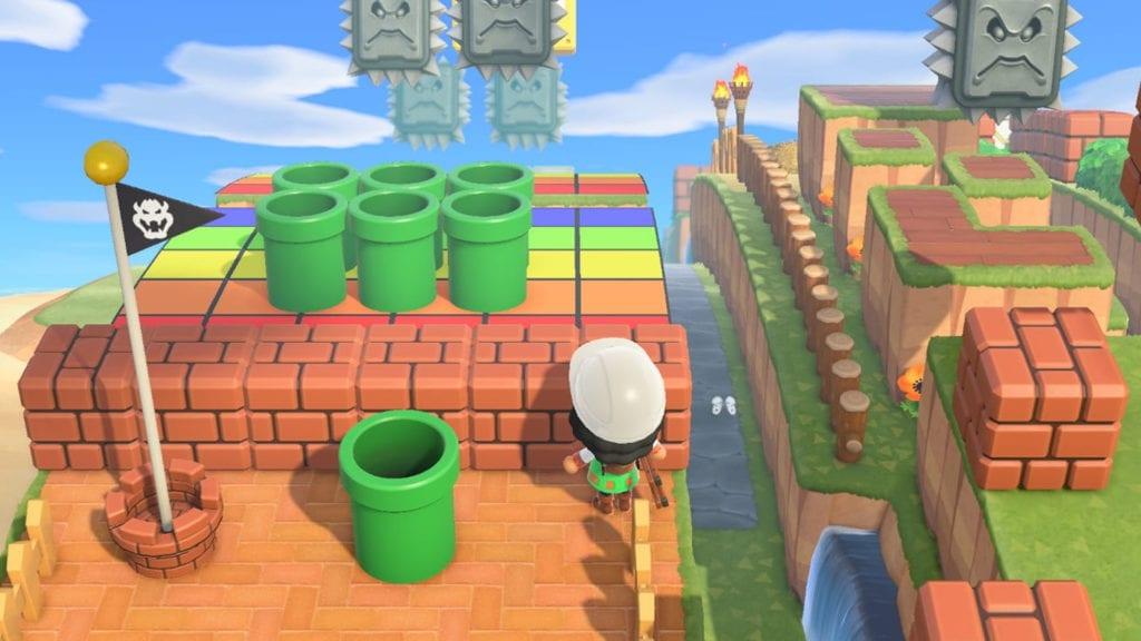 Animal Crossing Mini Game Ideas – Mario Assault Course