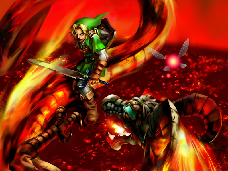 Fire and flames! A look at Ocarina of Time's Volvagia fight