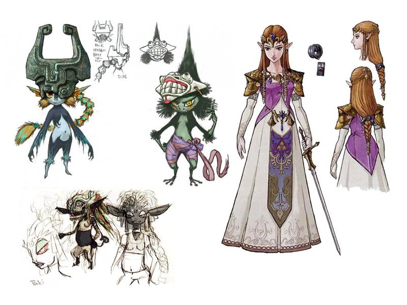 Gorgeous Twilight Princess art shows Zelda art style evolution