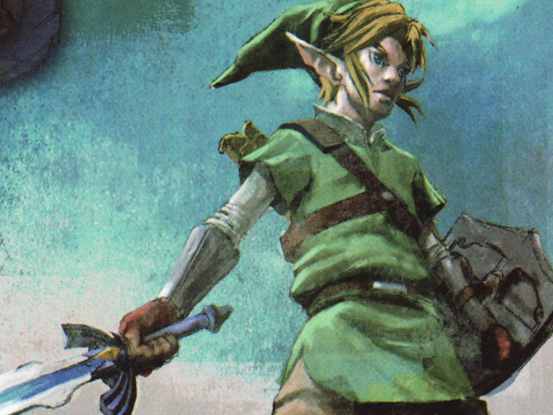 Take to the skies with Skyward Sword