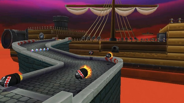 Airship Fortress from Mario Kart DS, 7 and Tour