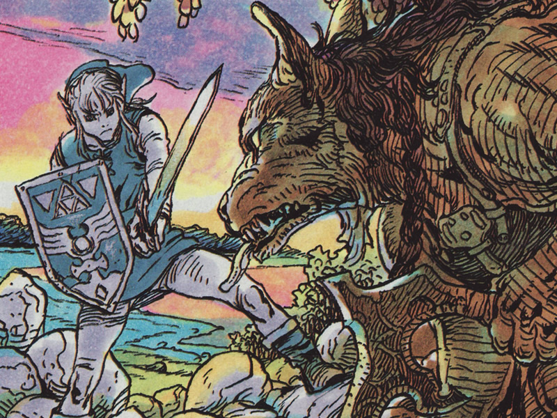 Link fights classic foes in Adventure of Link