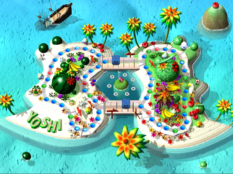 No Mario Party Superstars DLC would be complete without Yoshi's Tropical Island