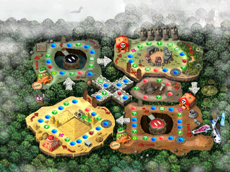 Mystery Land would be amazing for Mario Party Superstars DLC!