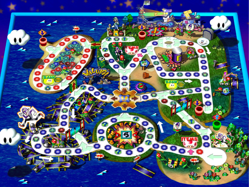 Part of our Mario Party Superstars DLC Predictions - Could Waluigi's Island make the cut?