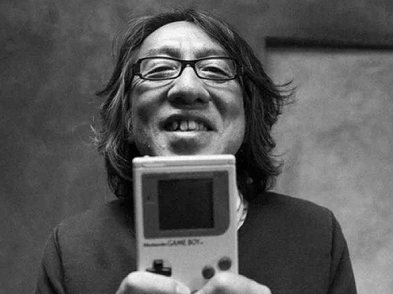 An image of the genius behind Metroid, Yoshio Sakamoto