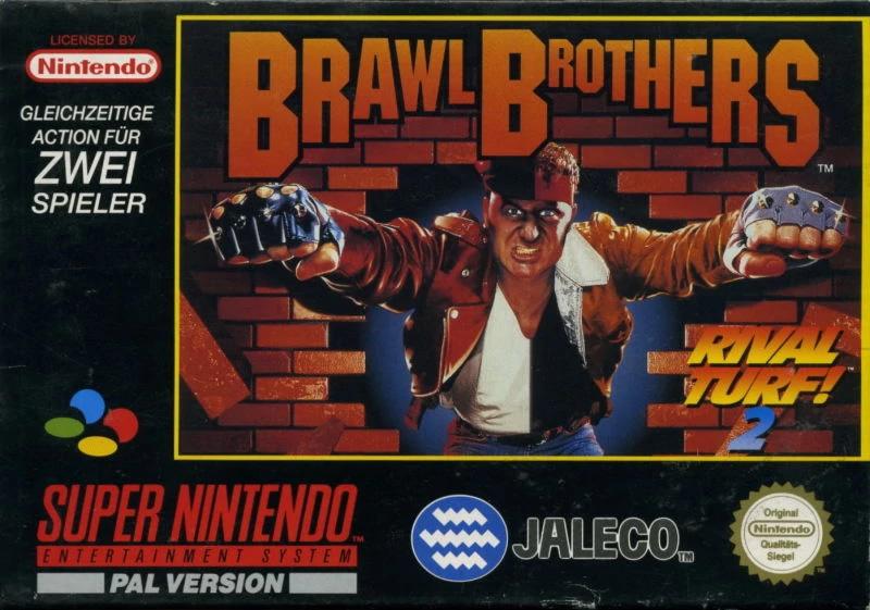 Brawl Brothers Boxart - Play Brawl Brothers on Switch