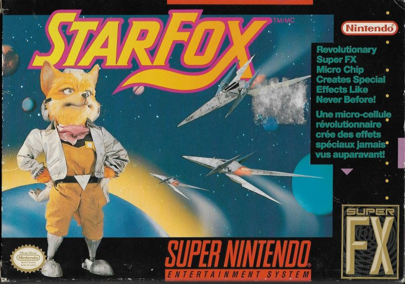 Boxart of Star Fox - one of the best SNES games for Switch