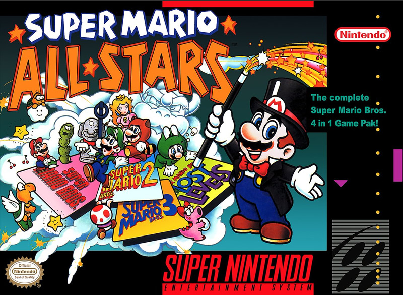 Super Mario All-Stars - one of the best SNES games for Switch