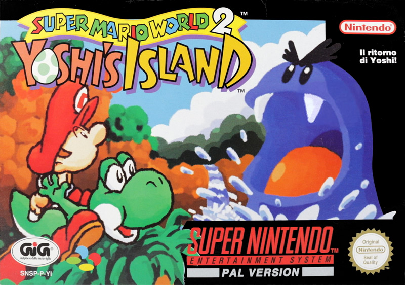 Yoshi's Island - Best SNES games for Switch