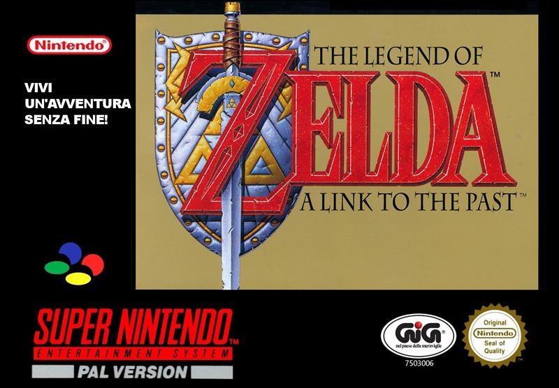 Zelda SNES Boxart - play now on Switch