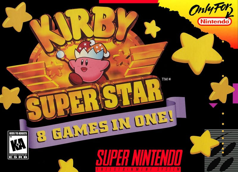 Kirby Superstar, one of the best SNES games for Switch
